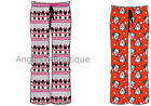 Ladies Lounge Pants Pyjama Bottoms Official MINNIE MOUSE 101 DALMATIONS 10 to 16
