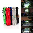 UF Mini Adjustable CREE Q5 LED Flashlight Hiking Home Outdoor Torch