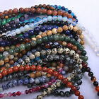 Natural Gemstone Round Spacer Loose Beads Various Kinds Any Size