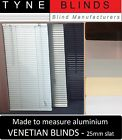 EXCEL Aluminium VENETIAN BLINDS - 25mm slat made to measure