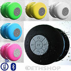 New Waterproof Wireless Bluetooth Handsfree Bathroom Shower Mic Suction Speaker