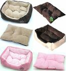 Quality Pet Dog Cat Bed Small 47cm Medium 61cm Large 75cm XL 90cm Cushion Pillow