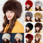 Women's Comfort  Faux Fox Fur Russian Cossack Style Winter Hat Nice Hat Cap