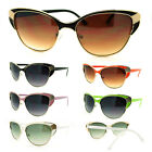 Womens Cat Eye Sunglasses with Metal Frame (6 Colors)