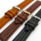Ribbed Leather Watch Strap Band By CONDOR 18mm 20mm 22mm 057R