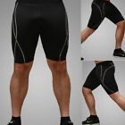 US SIZE Men's Compression Base Layer Tight Shorts Fitness Yoga Running Gym