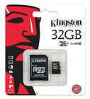 KINGSTON MICRO SD SDHC MEMORY CARD UHS-1 CLASS 10 - 32GB