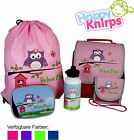 Set kindergarten backpack Happy Knirps with names and personal motif