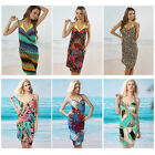 Womens Sexy Bright Bikini Swimsuit Bathing Suits Swimwear Cover Up Beach Dress