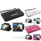 For LG G3 Leather Wallet Flip Foilo Case Cover w/stand Lanyard w/card slot
