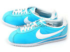 Nike Wmns Classic Cortez Nylon 2015 Lifestyle Shoes Clearwater/White 457226-413