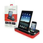 Charger Speaker DUAL DOCK for iPhone 6/6+ 5/5S/5C 4/4S iP...