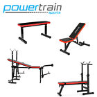 ADJUSTABLE DECLINE INCLINE HOME GYM WEIGHT BENCH PRESS EXERCISE EQUIPMENT SEAT