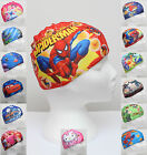 Cartoon Kids Childrens Childs Fabric Swimming Hat Swim Cap 2-10 Years