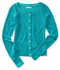 Aeropostale Womens Basic Knit Cardigan Sweater