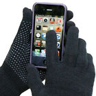 Evelots Ladies Knitted Texting Touch Screen Smartphone Gloves,2 Pair S/M Or L/XL