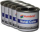 HUMBROL Enamel Paint Metalcote 14ml Choose Your Colour