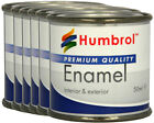 HUMBROL Enamel Paint Gloss 50ml Choose Colour