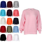 Womens New Knitted Ladies Chunky Stretch Slouch Winter Jumper Top Size 8-14