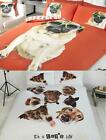Pug Dog Quilt Duvet Cover Or Cushion Cover Bedding Bed Sets Funky Animals New