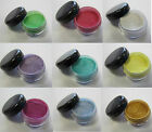 5ML POT PIGMENT POWDER - USE FOR SHELLAC NAIL ART ADDITIVE COSMETICS EYESHADOW