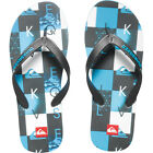 Quiksilver Molokai Checkmate Mens Footwear Sandals - Black Blue White All Sizes