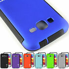 Hybrid Slim Phone Cover Case and Screen Protector for Samsung Galaxy Core Prime