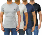 Mens Designer Duck & Cover Stretch Fitted T-Shirt Basic Tee Crew Neck Top Cotton