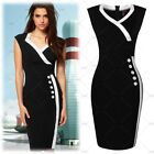 Fashion Women Buttons Bodycon Sleeveless Sexy Party Cocktail Formal Mini Dresses