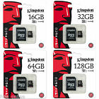 Kingston 16GB 32GB 64GB 128GB Micro SD Memory Card Class10 Samsung Galaxy Tablet