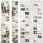 Picture Pockets Frame Holder for 20, 28 or 50 Photos Display Wall Hanging New