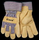 GRAIN PIGSKIN LEATHER PALM Work Glove Gardening Kinco 1917 M L XL unlined NWT