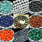 Wholesale Lot Gemstone Round Spacer Loose Beads 2mm 4mm 6mm 8mm 10mm 12mm 15.5""