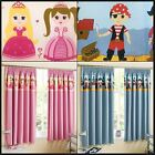 Zoe Boys Girls Thermal Blockout Header Tape Top Childrens Curtains