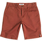 Quiksilver Krandy Chino Mens Shorts Walk - Henna All Sizes
