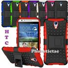 Heavy Duty Shock Proof Builder Hard Case Cover For Various HTC Desire Phones