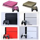Textured Carbon Fibre Skin For PLAYSTATION 4 PS4 Sticker Wrap Accessory Decal