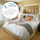 PureCare Gel Infused Memory Foam Mattress Topper Contour Cooling Bamboo Non-Slip