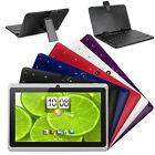 iRola 7 Quad Core Android 4.4 KitKat Dual Camera Wi-Fi Tablet PC +Keyboard Case