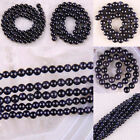 """Natural 2MM 3MM 6MM 8MM 10MM 12MM Blue SandStone Round Loose Beads 14.5"""""""