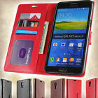 For Samsung Galaxy Mega 2 - Luxury Faux Leather Flip Case Wallet Pouch Cover