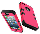Shockproof Hybrid Armor Rubber Hard Protective Matte Case For iPhone 4g 4s