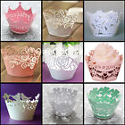 Wedding Anniversary Birthday Party Filigree Vine Cupcake Wrappers Wraps Cases