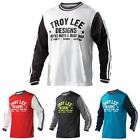 2015 Troy Lee Designs Mens Super Retro Mountain Bike DH XC Long Sleeve Jersey