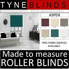 Louvolite ASPEN ROLLER BLINDS - straight edge - made to your exact size.