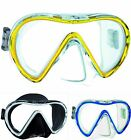 Mares VENTO Single Glass Lens WIDE VIEW Silicone Diving Snorkeling MASK + Box