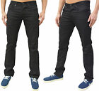Mens Zico Jeans Skinny Slim Fit 5 Pocket Trousers Pants Chinos Jack Black *SALE*