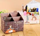 Planner Paper Craft Storage Box Kawaii Cosmetic Desk Organizer Sanrio