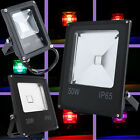 Super thin Outdoor LED RGB Flood Light Lamp High Power Waterproof IP65 10W~50W