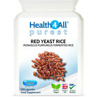 Health4All Red Yeast Rice 600mg Capsules VEGAN Highest safe dosage 2400 mg/day